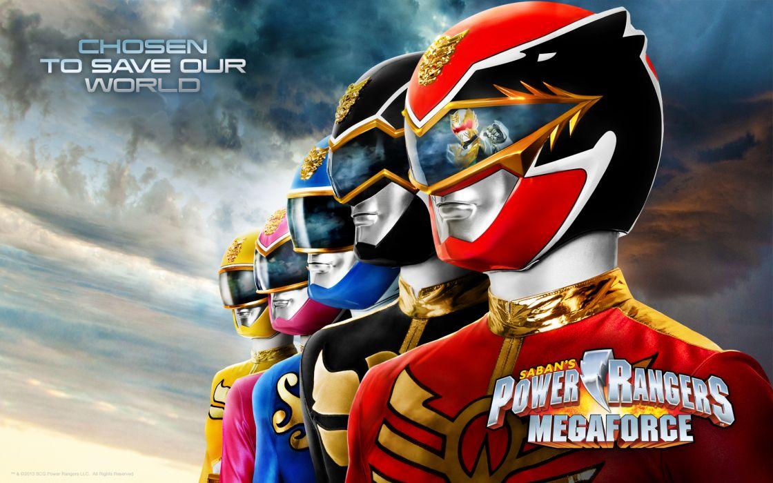 POWER RANGERS MEGAFORCE action adventure children superhero television    gs wallpaper
