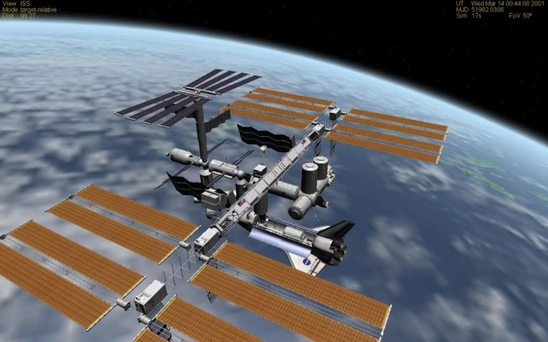 ISS International Space Station space station wallpaper