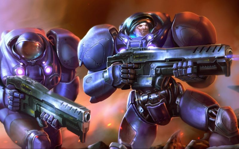 video games StarCraft fantasy art Game Art wallpaper