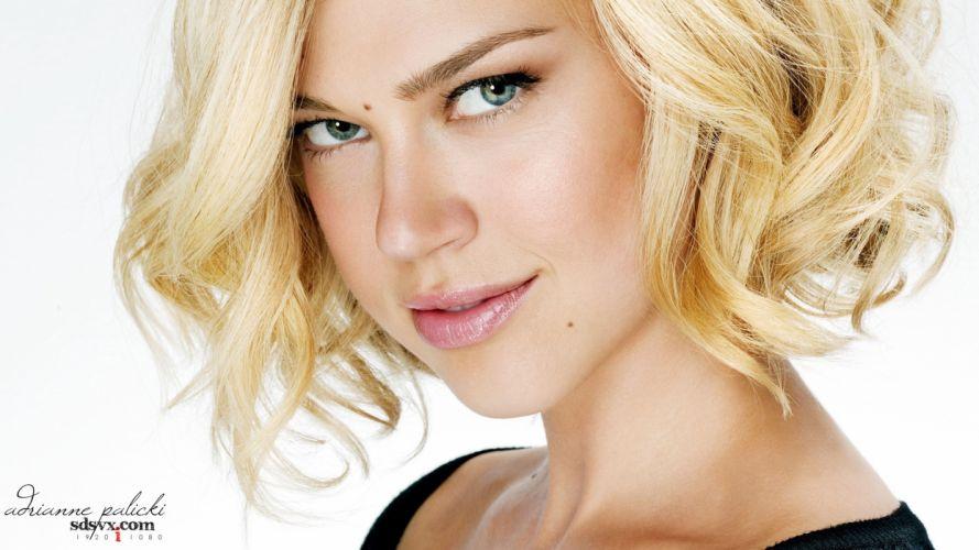 blondes models Adrianne Palicki wallpaper