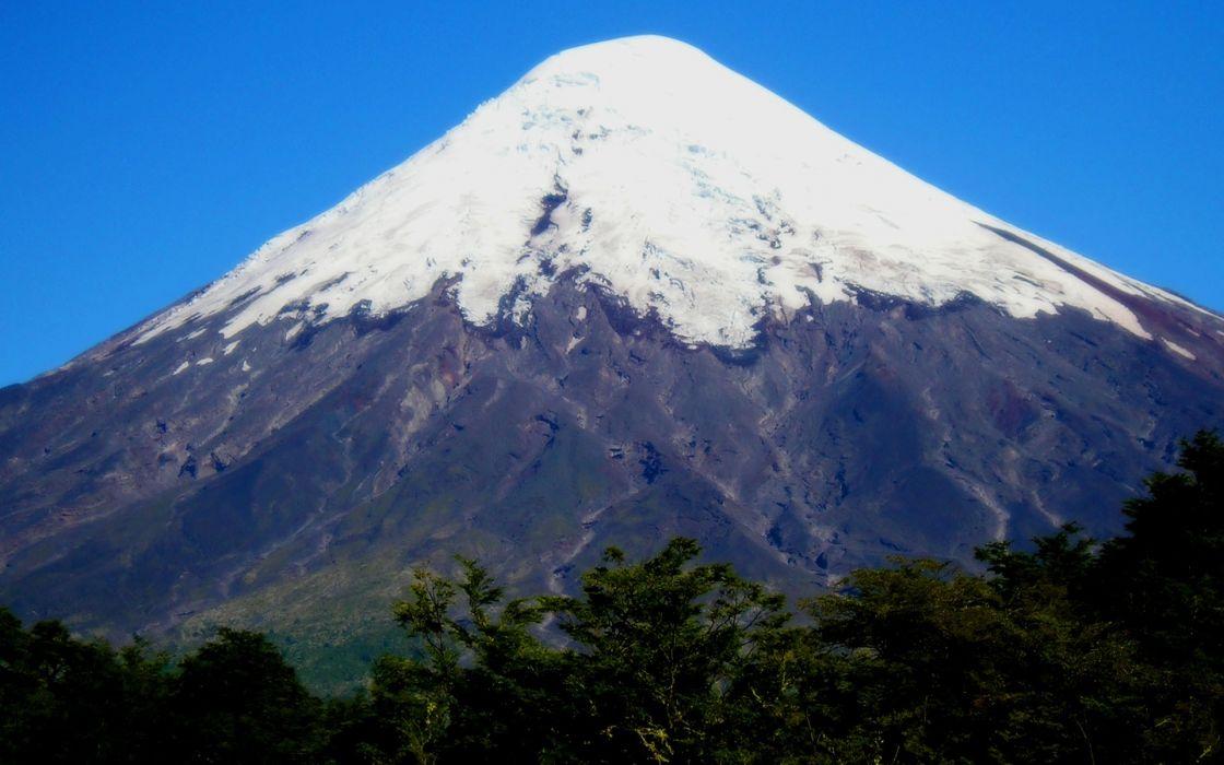 volcanoes peak wallpaper