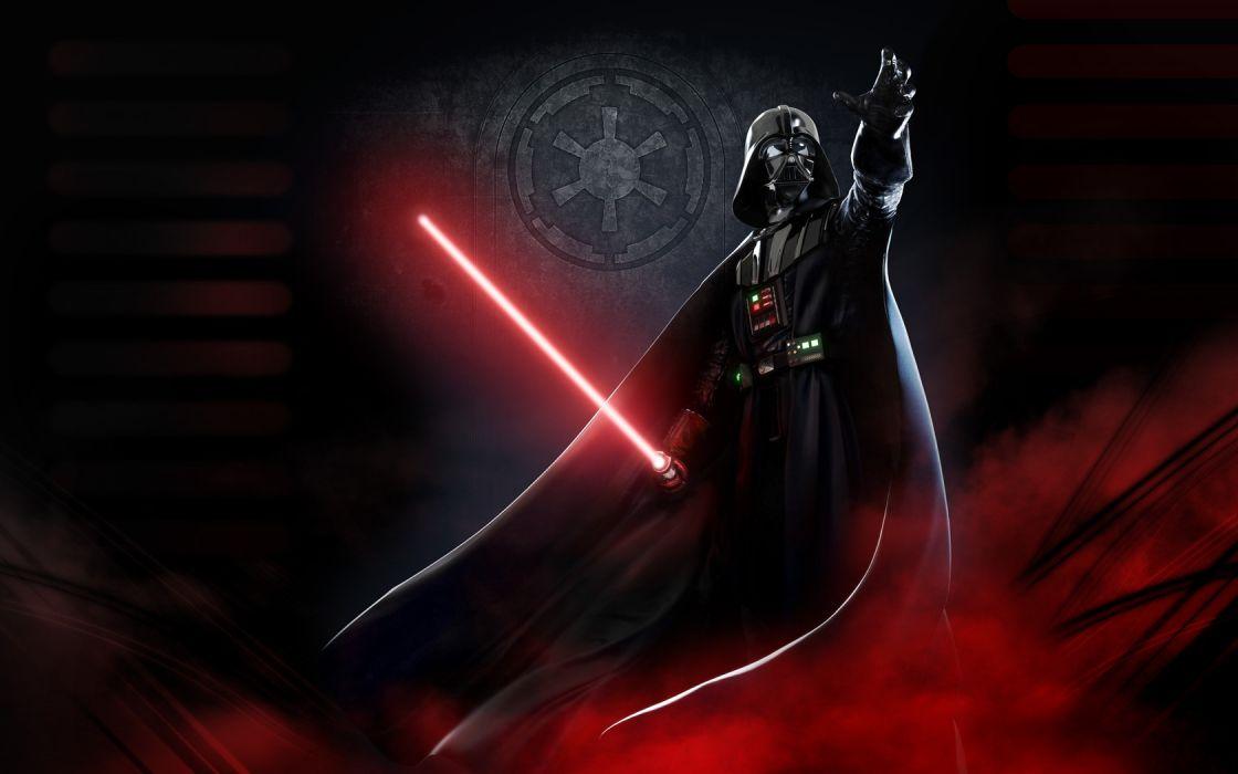 light Star Wars lightsabers Darth Vader wallpaper