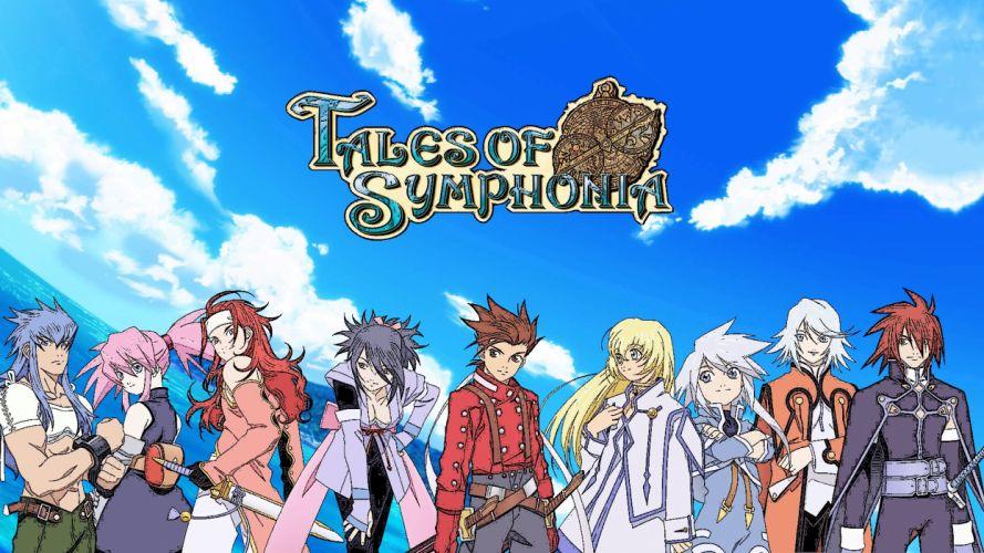 Tales of Symphonia wallpaper