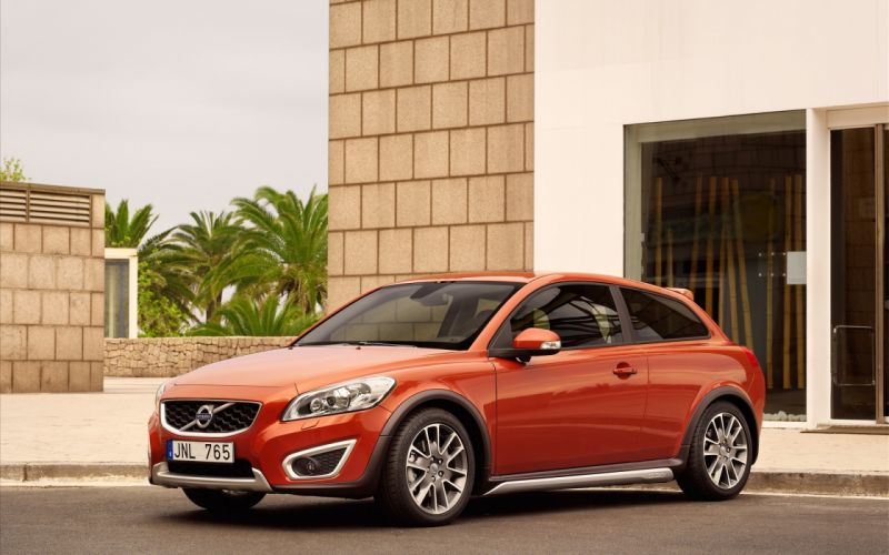 cars vehicles Volvo C30 wallpaper