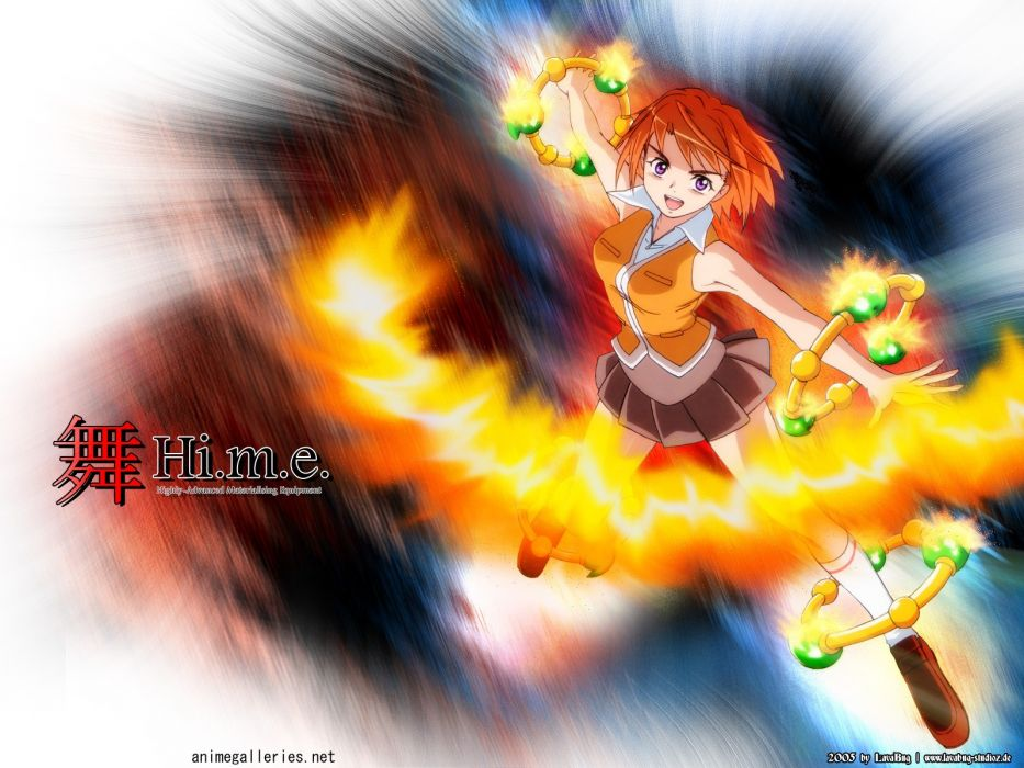 Mai Hime anime anime girls wallpaper