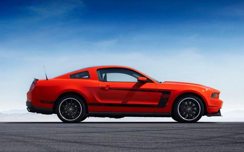 boss Ford Mustang wallpaper