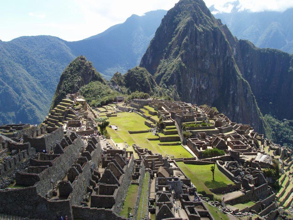 ruins architecture Machu Picchu wallpaper