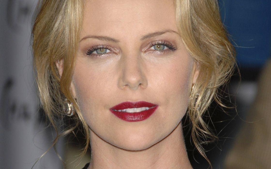blondes women models Charlize Theron wallpaper