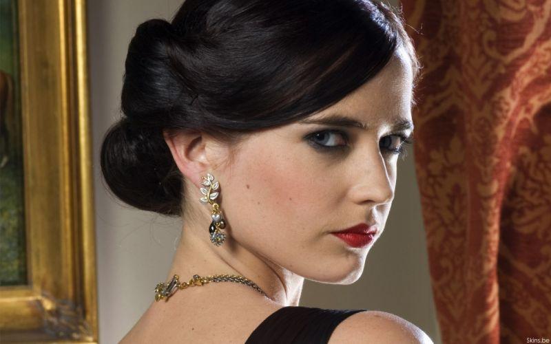 brunettes women actress Eva Green wallpaper