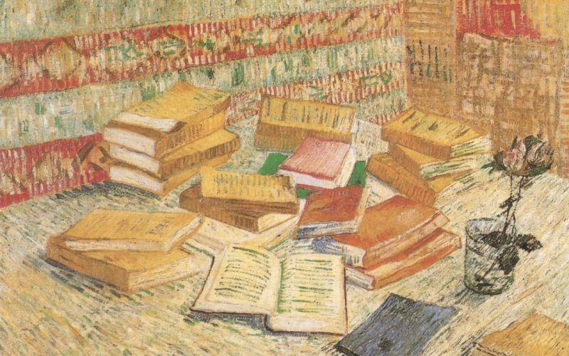 paintings books Vincent Van Gogh Dutch wallpaper