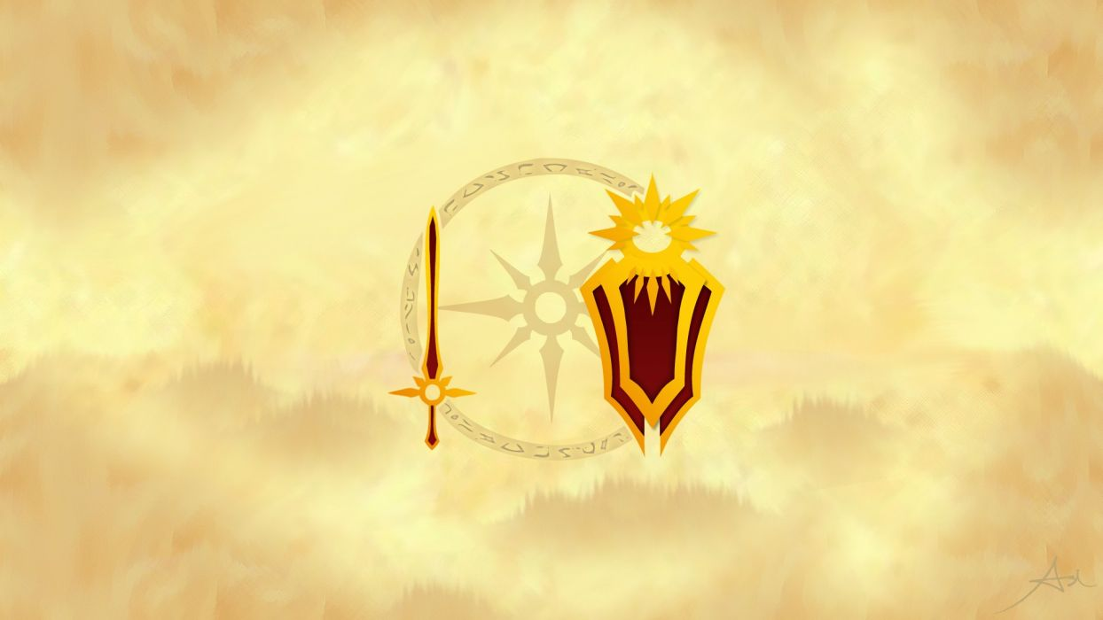 video games Sun League of Legends fantasy art Leona zenith wallpaper