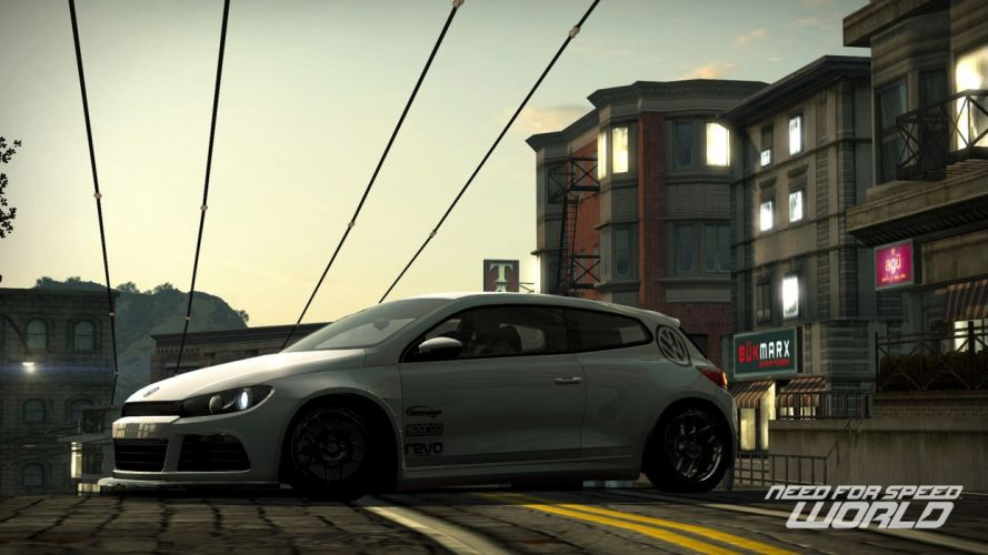 video games cars scirocco Volkswagen Scirocco Need for Speed World games pc games wallpaper