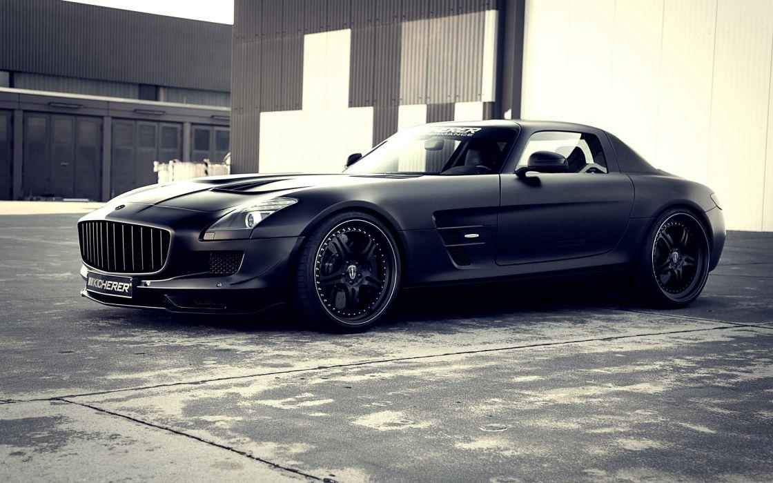 cars TechArt Mercedes-Benz matte colored mercedes sls smg wallpaper