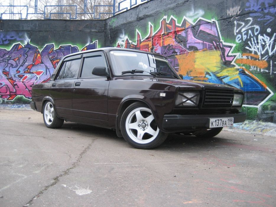 cars vehicles Lada 2107 russian cars Russians wallpaper