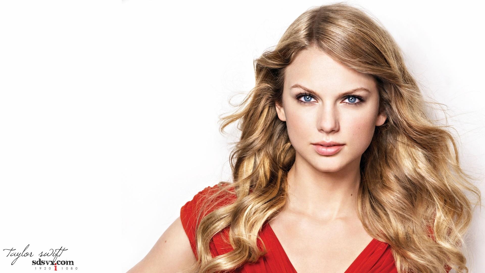 Blondes women music Taylor Swift models celebrity singers white background wallpaper | 1920x1080 ...