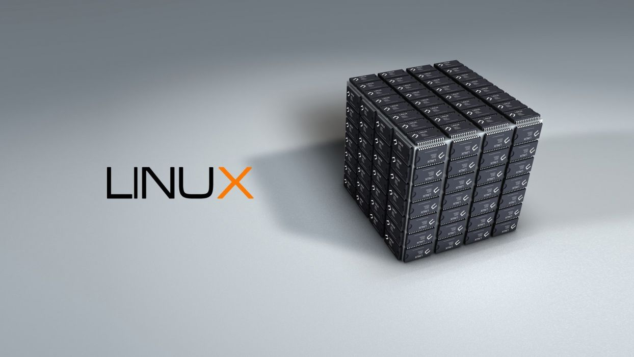 computers Linux logos wallpaper