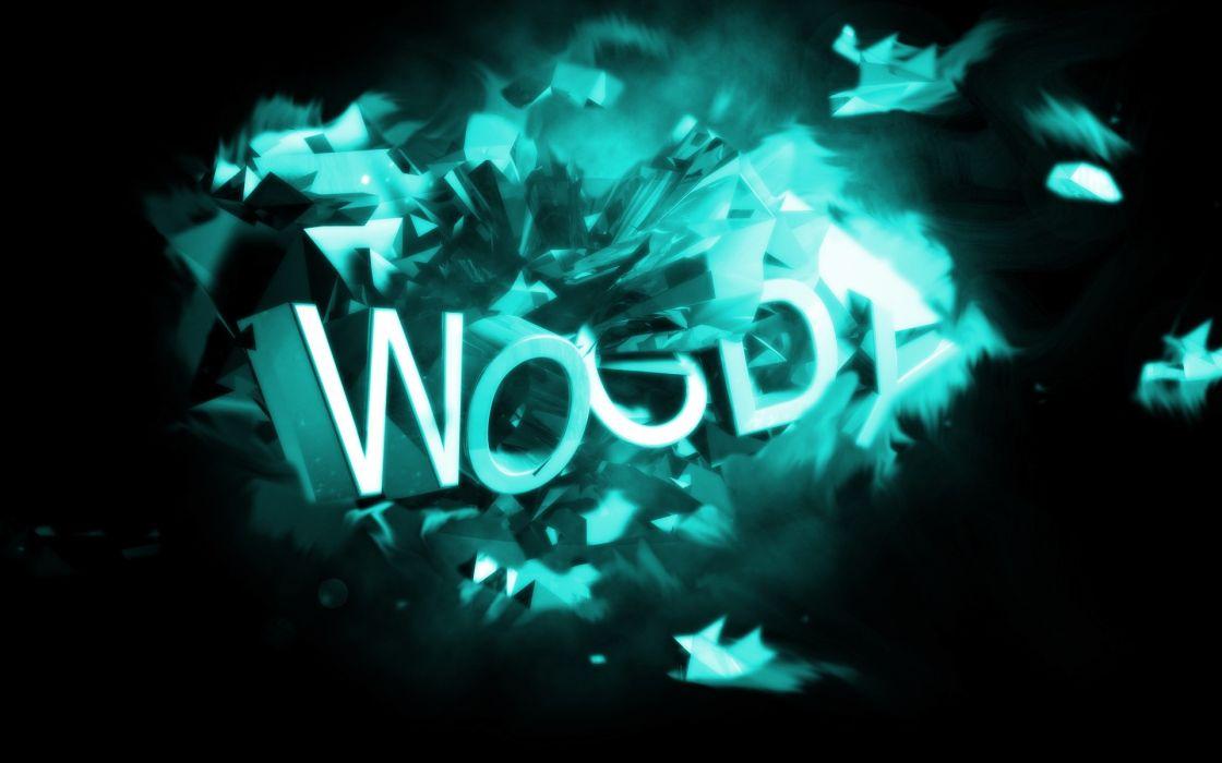 abstract blue dark Woody artwork wallpaper