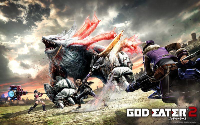 GOD EATER wallpaper