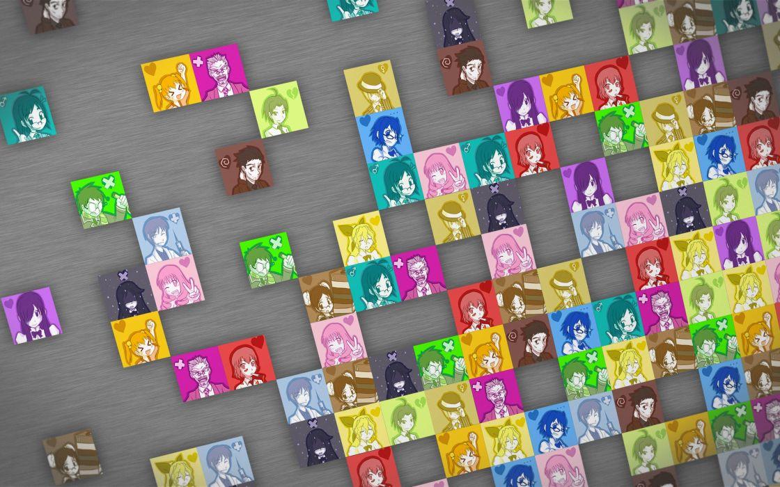 katawa shoujo ibarazaki emi ikezawa hanako iwanako katawa shoujo mikado shiina mutou akio nakai hisao satou akira satou lilly setou kenji shirakawa yuuko tezuka rin wallpaper