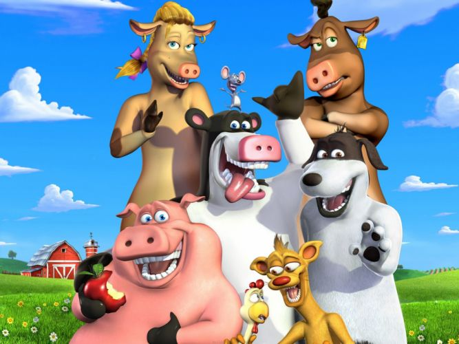 Back at the Barnyard r wallpaper