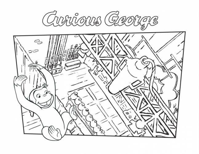 CURIOUS GEORGE fs wallpaper