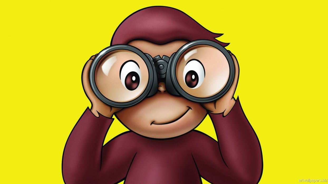 CURIOUS GEORGE Ef Wallpaper