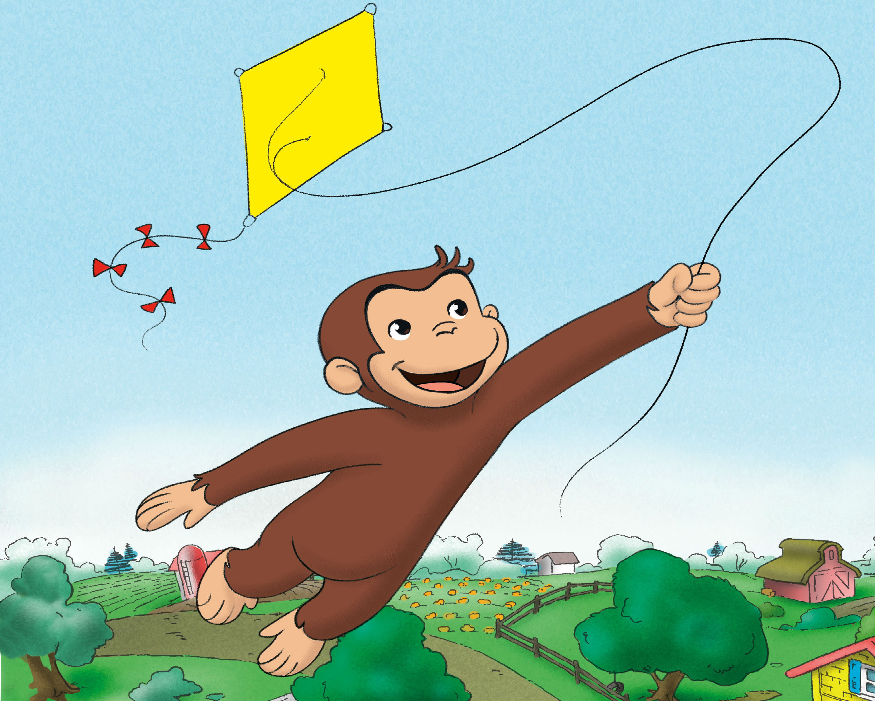 curious george fw wallpaper 2870x2300 185530 wallpaperup