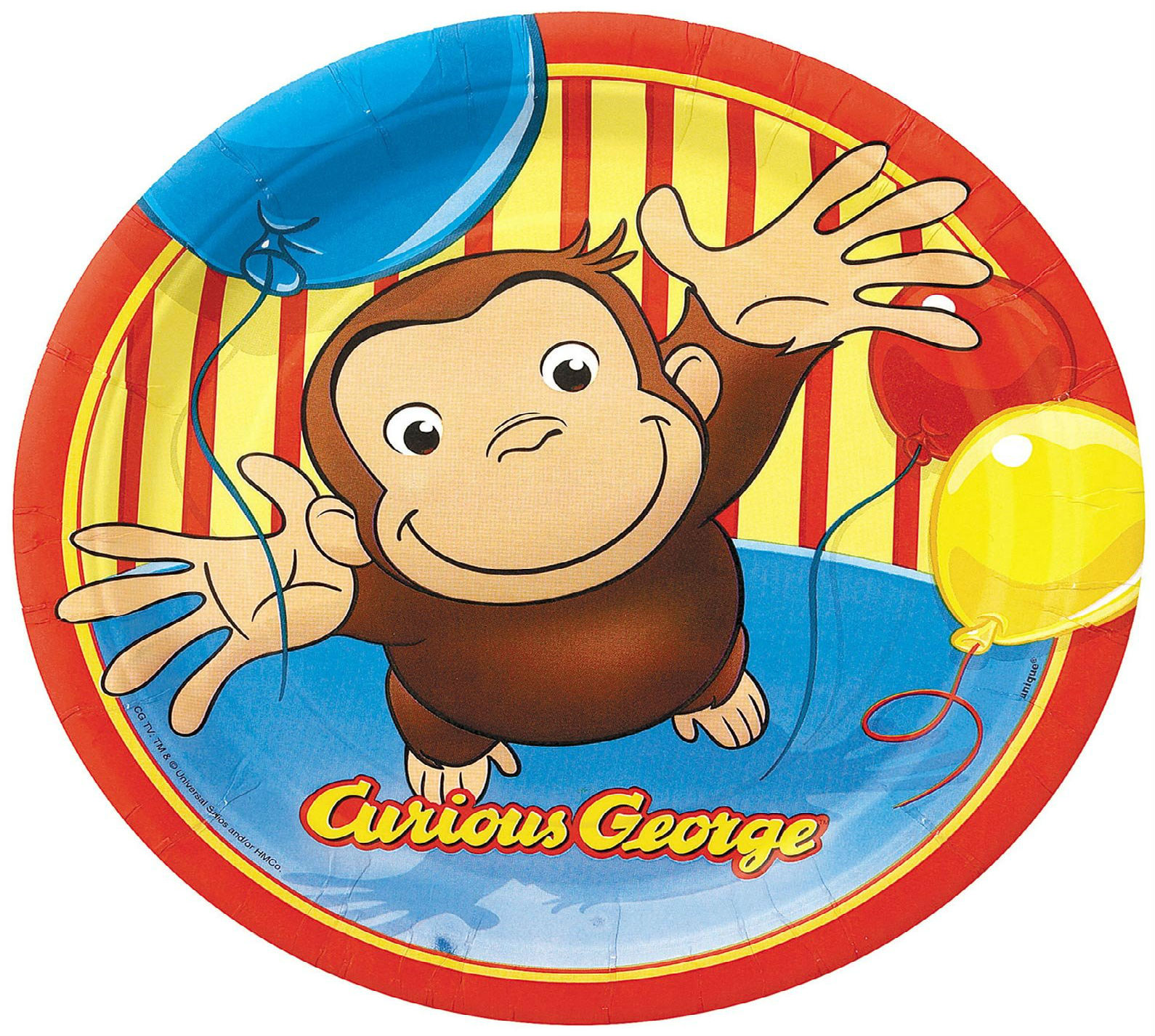 curious george birthday g wallpaper 1590x1426 185548