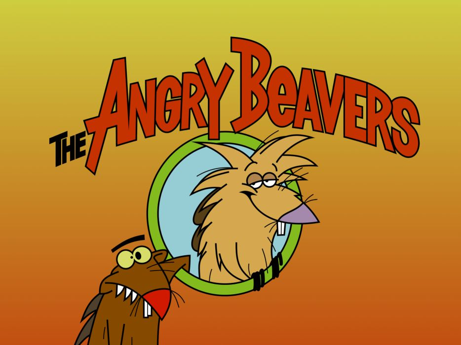The Angry Beavers    e wallpaper