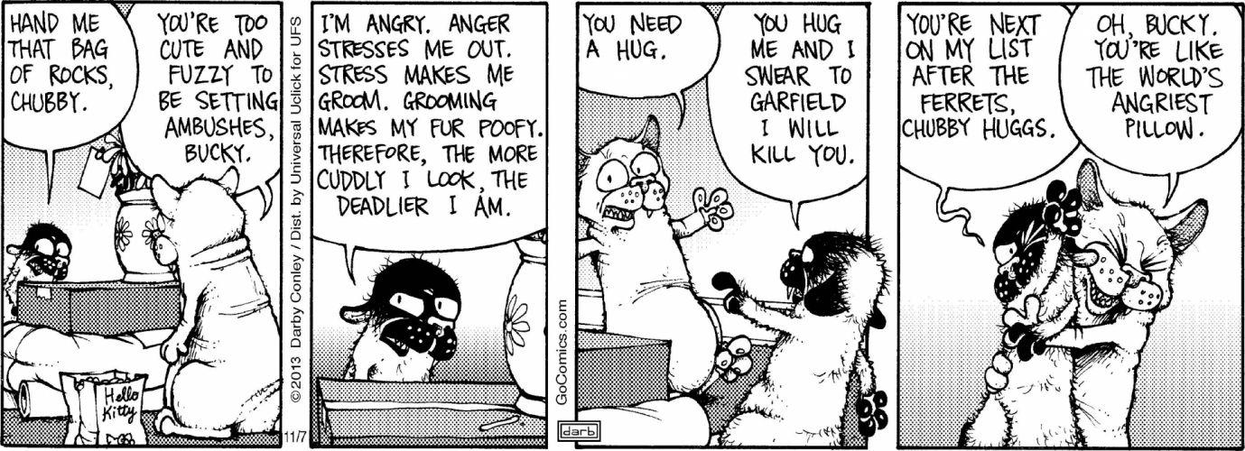 GET FUZZY cartoon comicstrip get-fuzzy wallpaper