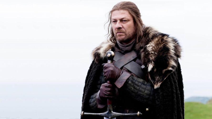 Game of Thrones A Song of Ice and Fire Sean Bean TV series Eddard 'Ned' Stark swords House Stark wallpaper