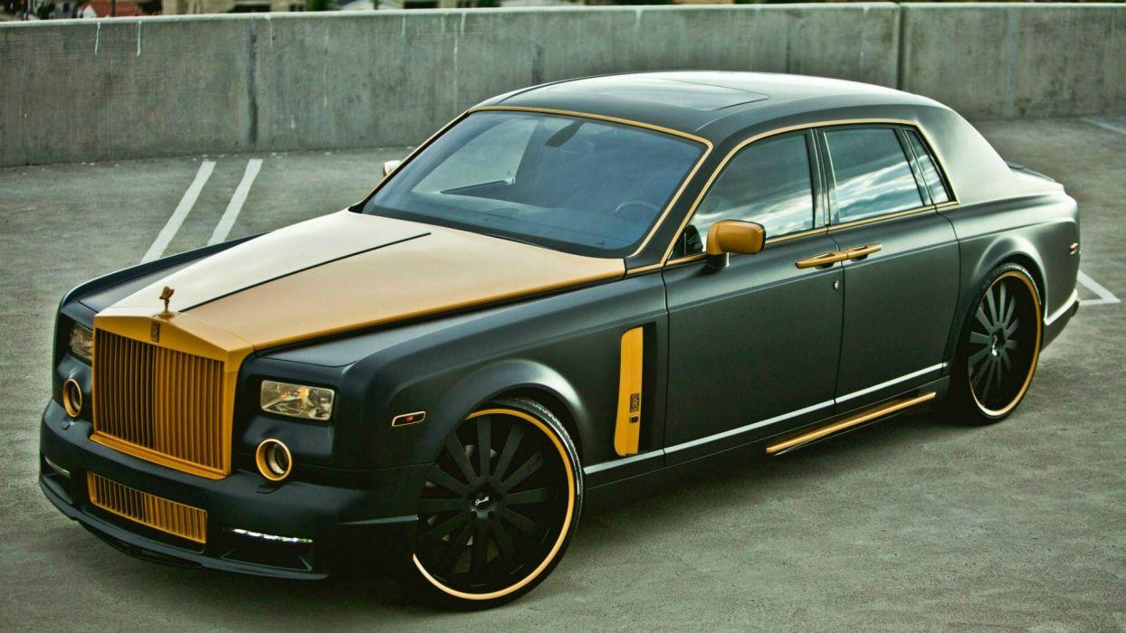 cars engines drive chrome Rolls Royce Rolls Royce Phantom wallpaper