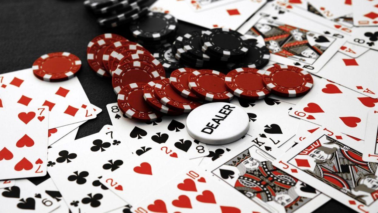 Cards Poker Poker Chips Casino Wallpaper 1600x900 185923