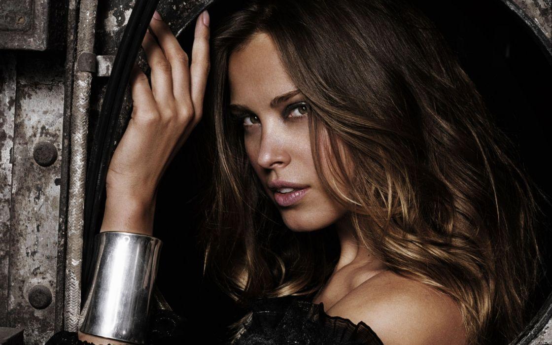 brunettes women models Petra Nemcova wallpaper