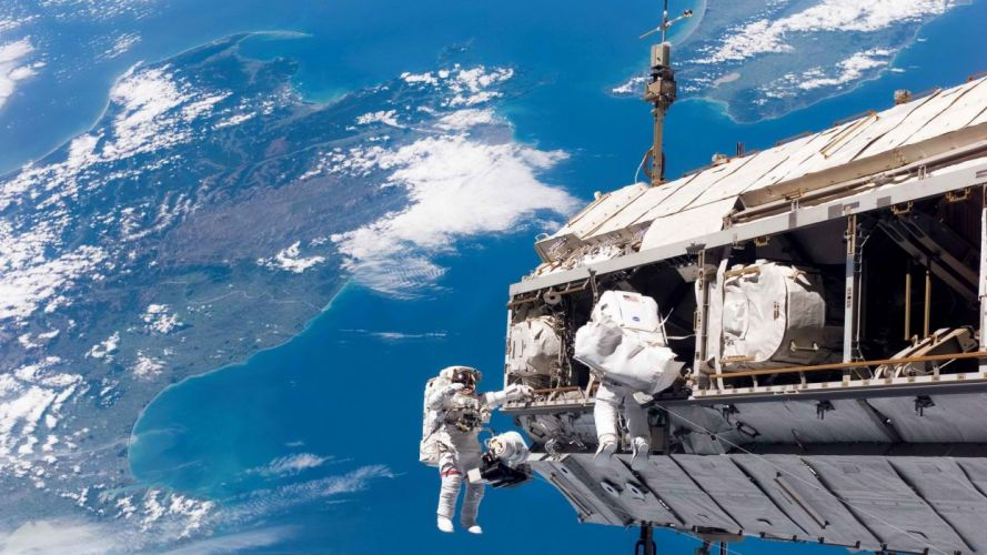 outdoors International Space Station space station wallpaper