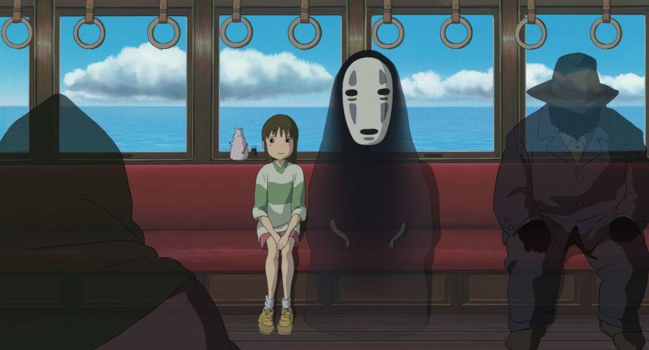 Spirited Away Ogino Chihiro no face Studio Ghibli wallpaper