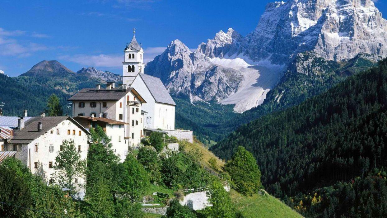 Italy Alps wallpaper