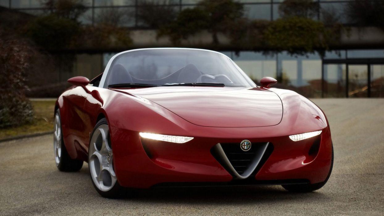 cars Alfa Romeo concept cars wallpaper