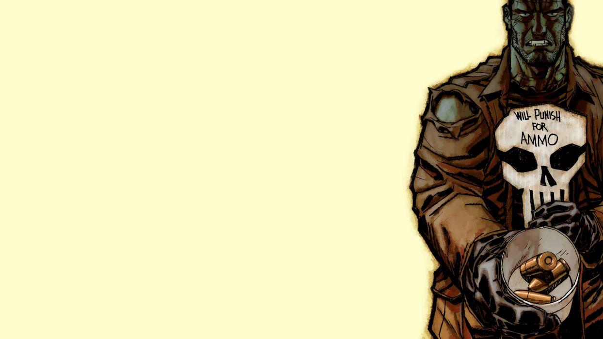 The Punisher Marvel Comics wallpaper