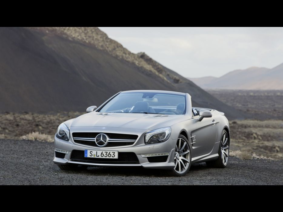 front AMG Mercedes-Benz Mercedes-Benz SL-Class wallpaper
