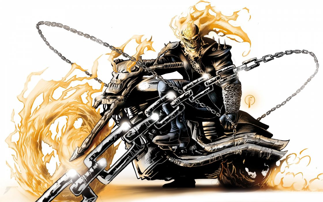 Ghost Rider cinema wallpaper