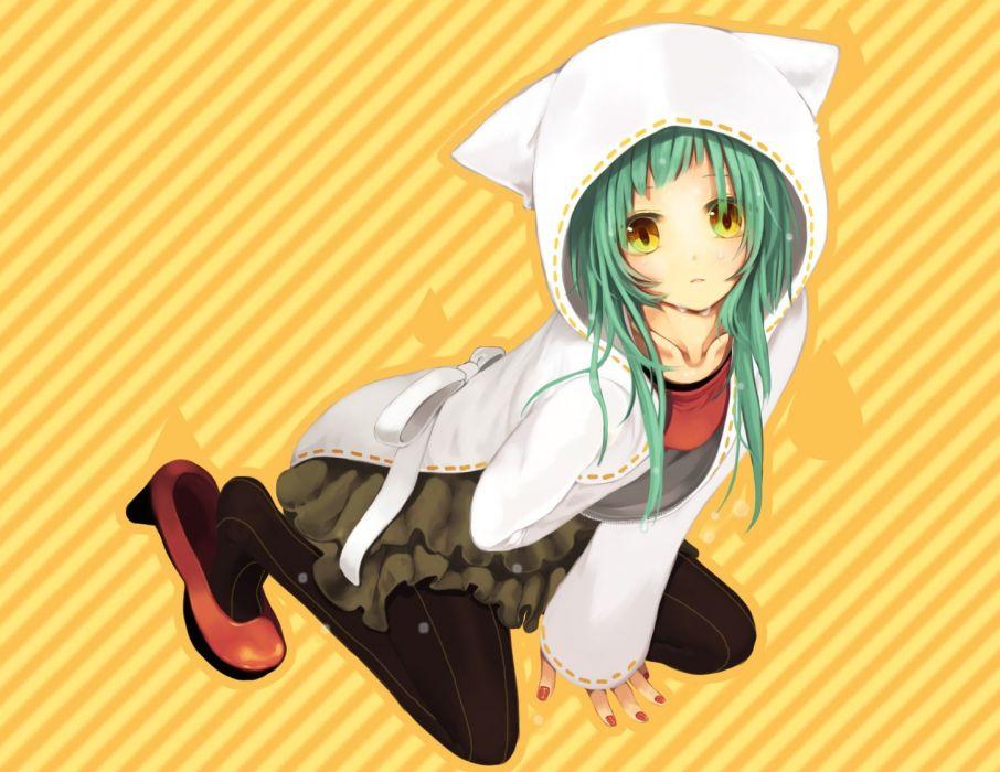 Vocaloid anime girls wallpaper