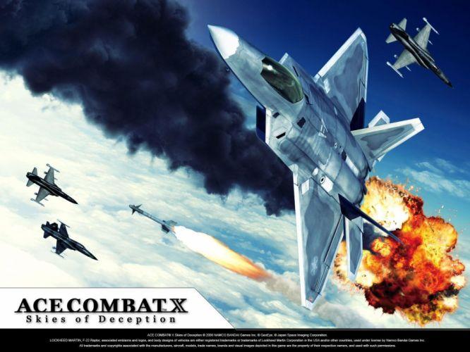 Ace Combat X Skies of Deception wallpaper