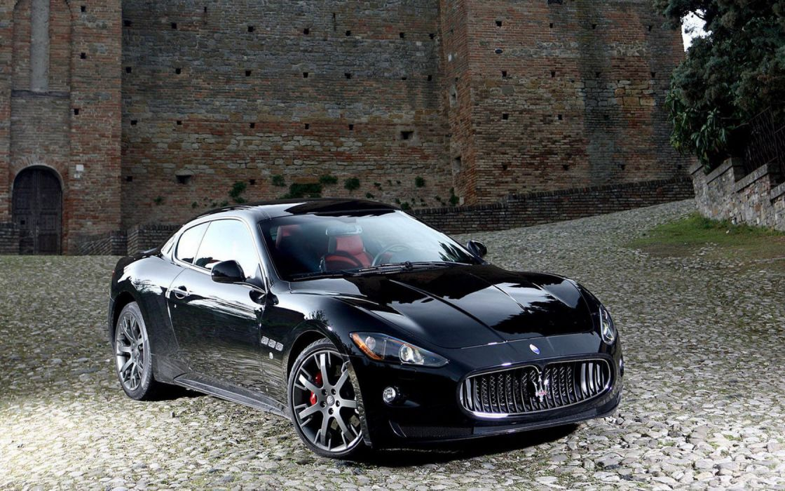 cars Maserati vehicles wallpaper