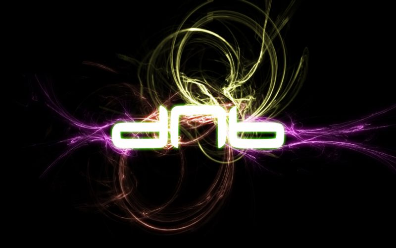 abstract music lights dnb drum and bass wallpaper