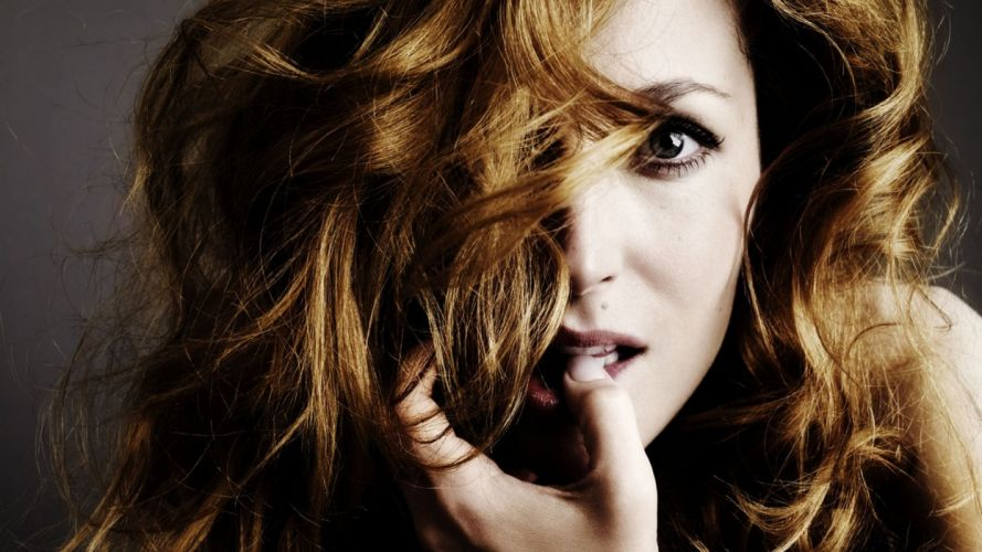 women Gillian Anderson models TagNotAllowedTooSubjective wallpaper