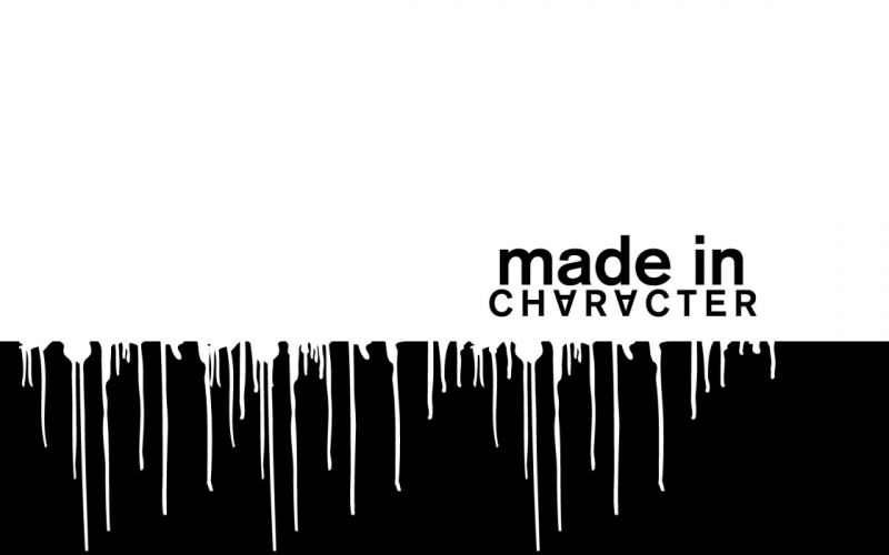 black and white typography wallpaper