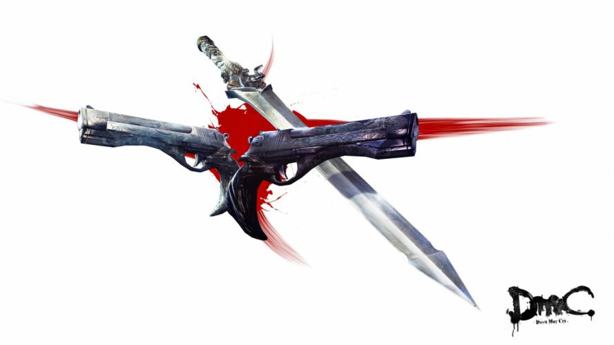 video games guns swords Devil May Cry 5 dmc wallpaper