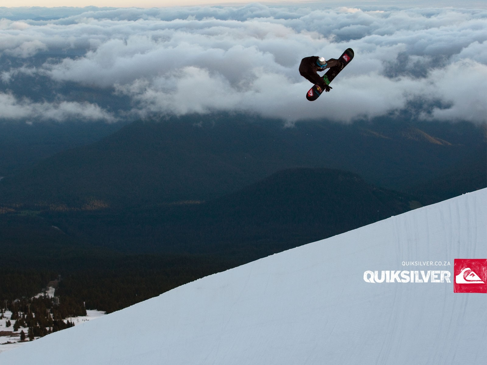 snow snowboarding quiksilver wallpaper 1600x1200