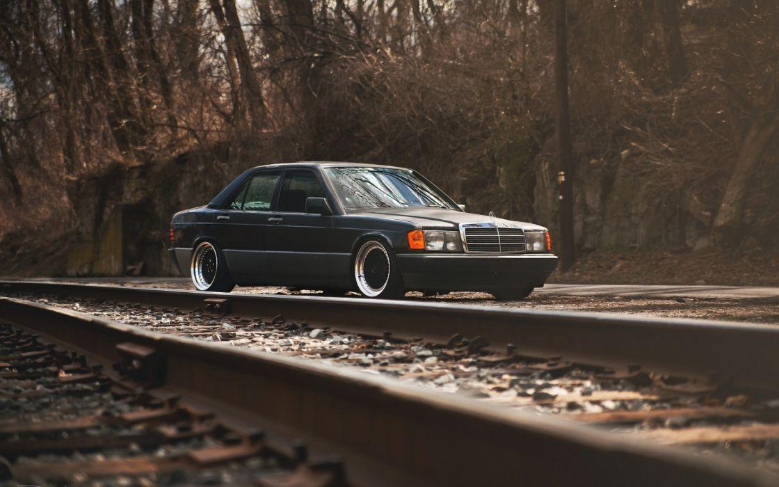 cars Mercedes-Benz 190e wallpaper